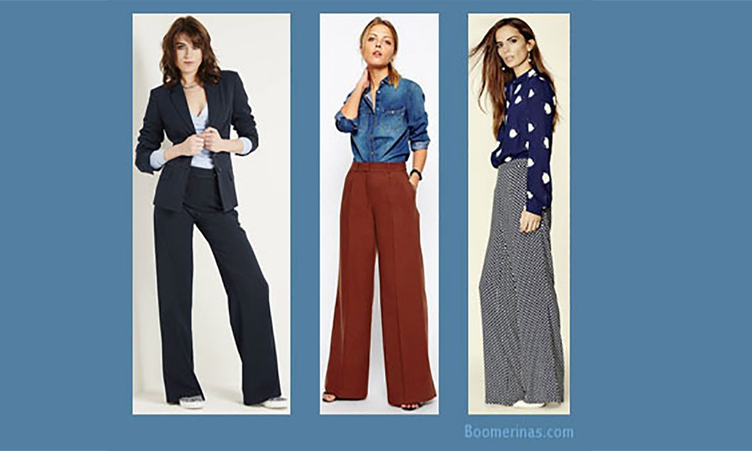 'Wide leg pants' – the new fashion trend!