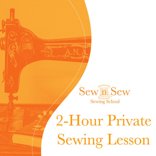 2 Hour Private Sewing Lesson