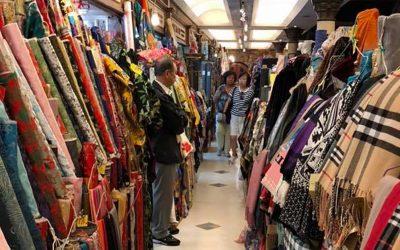 Fabric shopping trip to Hong Kong