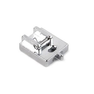Invisible zipper foot for sewing machine