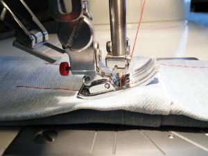 Bulky sewing seams