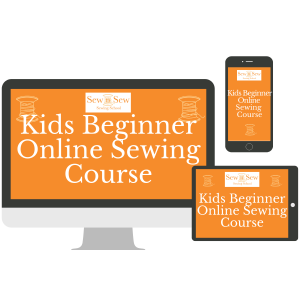 Kids Online Beginner Sewing Course