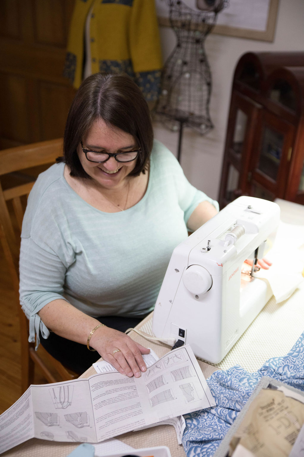 Intermediate online sewing course