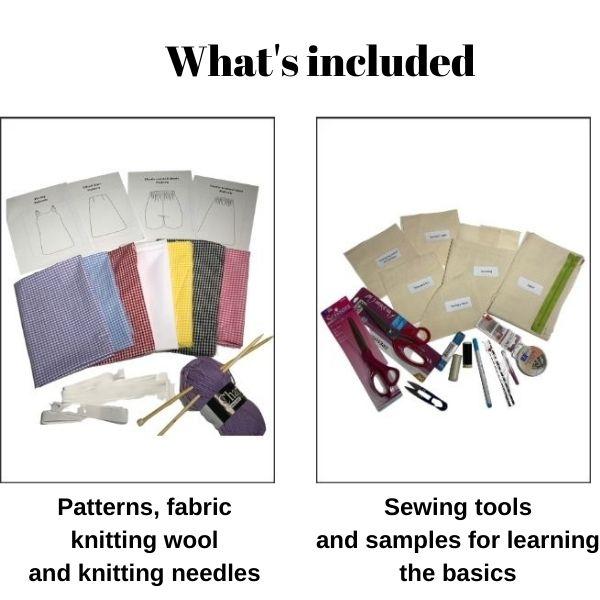 Kids beginner online sewing course