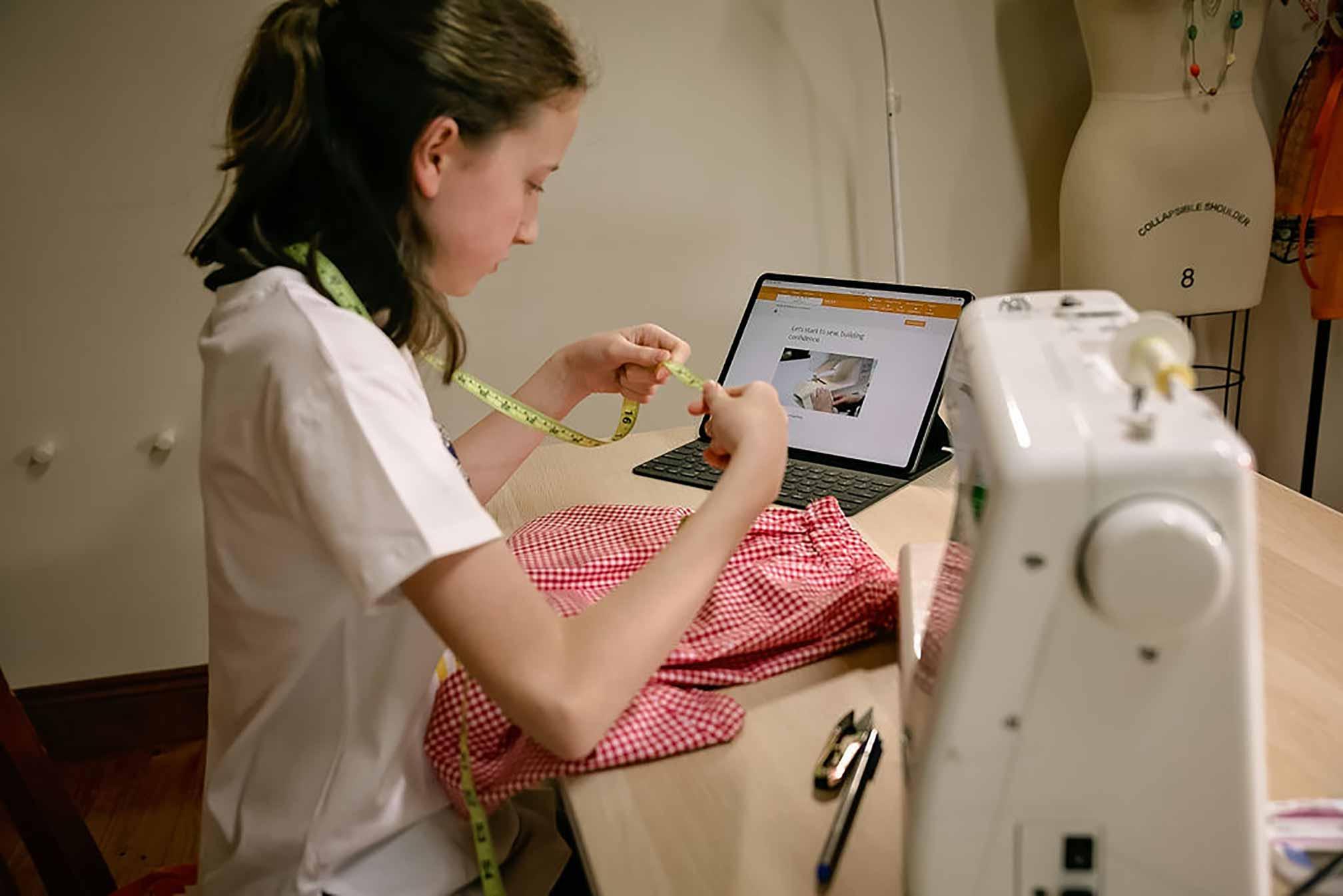 Kids Online Beginner Sewing Course